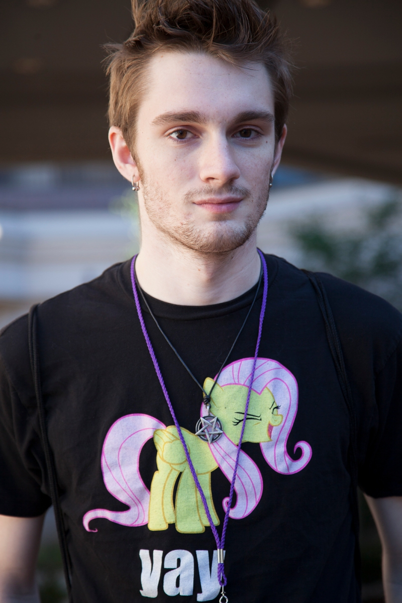 A Brony at the AnimeUSA convention in Washington, DC, September 12, 2013.
