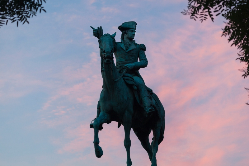 Nathanael Greene on the first day of summer